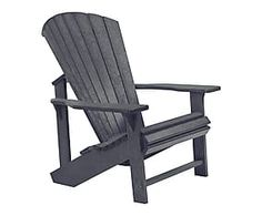 adirondack stuhl addy upright aus recyceltem kunststoff b. Black Bedroom Furniture Sets. Home Design Ideas