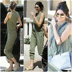 #KendallJenner #ChanelEspadrilles #chanel #espadrilles #SkinnyJeans #KimKardashian #KylieJenner #rippedjeans #cute #love #fashion #style #celebrity #hollywood #denim #beautiful #pretty#stylish #lookbook #look #ootd #outfit #nofilter #girl #makeup... - Celebrity Fashion