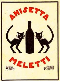 Vintage Italian Posters ~ Anisetta Meletti #illustrator #vintage #Italian…