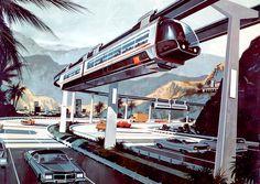 Dark Roasted Blend: Retro-Future: Mind-Boggling Transportation