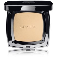 CHANEL Natural Finish Pressed Powder - Colour Naturel ($49) ❤ liked on Polyvore featuring beauty products, makeup, face makeup, face powder, compact face powder, chanel face makeup, chanel face powder and chanel