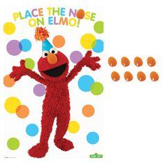 b4f691b9b8d0 Sesame Street Elmo Party Party Game Sesame Street Birthday