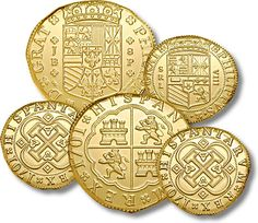Five Pirate Doubloons