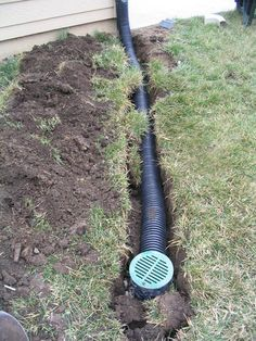 Green Boys LawnCare, Inc. - Drainage Green Boys LawnCare, Inc. Backyard Drainage, Landscape Drainage, Lawn And Landscape, Backyard Bar, Outdoor Landscaping, Front Yard Landscaping, Outdoor Gardens, Landscaping Tips, Rain Garden