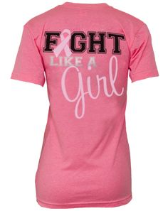 breast cancer shirt...I HATE PINK...BUT I'LL WEAR THIS SHIRT