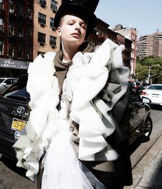 Frederikke Sofie by Daniel Jackson for WSJ Magazine November 2016 - Page 2   The Fashionography