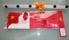 Kit marcador de livro (tecido) e flor (sakurá) de tecido 2014