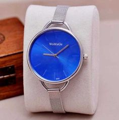 Womage-Womens-Lady-Quartz-Stainless-Steel-Analog-Wrist-Watch-Bracelet-Bangle