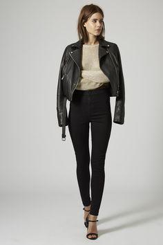 MOTO Black Joni Jeans - Topshop // outfit
