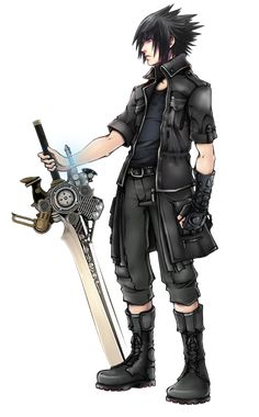 I want to cosplay as Noctis