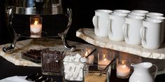 Drink Up:: Wedding Drink Trends of 2013: Hot drink stations at wedding