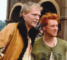 A Knights Tale is a great movie with some wonderful (and damn goodlooking) actors. Paul Bettany and Alan Tudyk above. Paul Bettany, Great Movies, New Movies, Amazing Movies, Love Movie, Movie Tv, Movies Showing, Movies And Tv Shows, Hulk