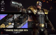 Comicon Challenge 2014 Judge DreddbyStepanchikov