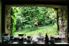 I want this window and this outside. Minus any upkeep responsibilities.