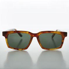 Thick Horn Rim Wayfarer Style Men's Vintage Sunglass NOS -VIC