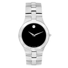Shop for Movado 'Juro' Men's 0605023 or Women's 0605024 Stainless Steel Watch. Get free delivery On EVERYTHING* Overstock - Your Online Watches Store! Get in rewards with Club O! Men's Watches, Watches Online, Luxury Watches, Nice Watches, Fashion Watches, Jewelry Watches, Rolex, Swiss Army Watches, Expensive Watches