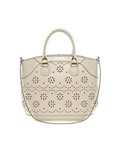 ASOS Leather Shopper Bag With Punchout Detail. too expensive =( haha