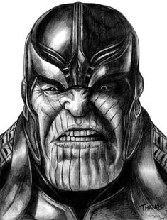 Thanos (Avengers - Infinity War) by SoulStryder210