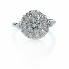 """so i think i may be drawn to these """"cluster"""" type rings, however I am not a fan of how some of them look from the side..."""
