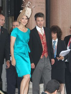 Crown Princess Mary and Prince Frederik of Denmark.