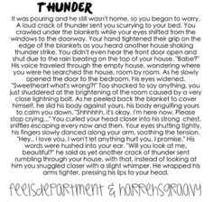 Imagine.. I would love this!!! I'm terrified of storms!!!!!!! I imagine niall!!!!