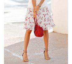 Sukňa s potlačou | vypredaj-zlavy.sk #vypredajzlavy #vypredajzlavysk #vypredajzlavy_sk #sako #sukne #vyprodej #slevy Floral, Skirts, Fashion, Moda, Fashion Styles, Florals, Skirt, Fasion