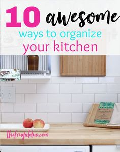 10 Awesome ways to organize your kitchen and fridge. Fridge Organization, Recipe Organization, Organization Hacks, Produce Storage, Cleaning Hacks, Weekly Cleaning, Cleaning Checklist, Cleaning Recipes, Organizing Tips