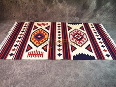 Wachow style / Kilim / navajo / tapisserie tapis Kilim couverture selle / pad Indiana                                                                                                                                                     Plus
