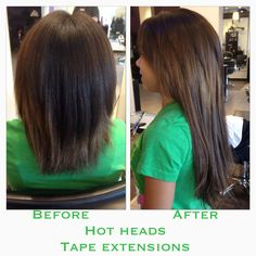 Hot heads hair extensions review on short hair my style hot heads tape extensions tape extensionshair pmusecretfo Images