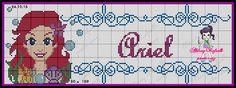 Olá pessoal , pra quem me segue no face já conhece os gráficos que fiz das princesas. Agora estou trazendo para o blog pra facilitar pra ...