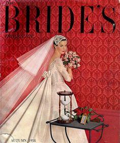 vintage bride 1958