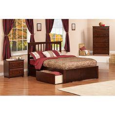 Mission 3 Piece Bedroom Set Size: Twin, Finish: Antique Walnut - http://delanico.com/bedroom-sets/mission-3-piece-bedroom-set-size-twin-finish-antique-walnut-596011902/
