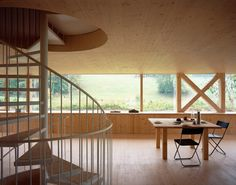 Stöckli in Balsthal von Pascal Flammer Architekten | Einfamilienhäuser