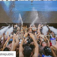 #Repost @wetrepublic with @repostapp ・・・ #WetRepublic will be in full effect today with #SteveAoki! #AokisPlayhouse  Ticket link in bio.