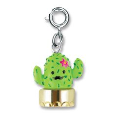 Make this mustachioed cactus her new desert darling! This style is one of 12 winning designs from the 2015 CHARM IT! Crayola Design-A-Charm Contest Collection! (c)Crayola WARNING CHOKING HAZARD - smal