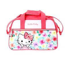 Hello Kitty Small Boston Bag: Floral