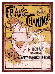 céramique et promotion du Champagne