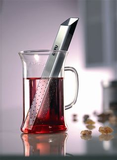 Gefu 12840 Tea Stick Square: The square shaped design allows you to scoop up loose leaf tea straight from your storage container. Then simply place the tea stick infuser into your cup of hot water and stir gently.