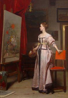 Tema da pintura: Eu sou um (a) pintor (a)! | Artes & Humor de Mulher