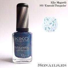 """Kiko Magnetic 705 """"Emerald Turquoise"""""""