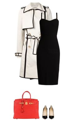 Dress like Disney // Cruella De Vil .x by diamonds-and-dior on Polyvore featuring polyvore fashion style MaxMara Lanvin Christian Louboutin Hermès clothing