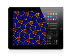 The planar crystallographic groups (also called wallpaper groups) are a fascinating topic on the borderline of science and art (science-to-touch, Art Teachers, Ipad Art, Art Lesson Plans, Science Art, Art Challenge, App Design, Art Lessons, Inspire Me, Geometry