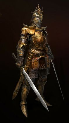 Dual Blade Knight......yep, usually feel like this on Mondays, battle the week ahead with strength