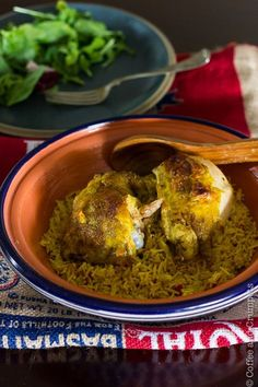 Chicken Kabsa | Saudi Style Chicken and Rice