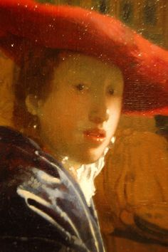 Johannes Vermeer:  The Girl with the Red Hat