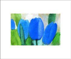 Andreas Felger - Blaue Tulpen