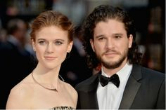 Game of Thrones' Jon Snow and Ygritte (Kit Harington and Rose Leslie) Are a Couple IRL