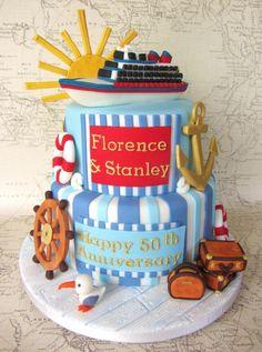 Nautical Cruise Cake