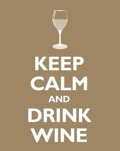 wine makes everything better...