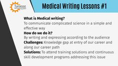 #TuracozMedicalWritingTraining - #MedicalWriting is a part of medical communication where we communicate complicated and technical content according to the target audience. #Turacoz Skill development Program bridges the knowledge gap and offers the following solutions Seminar | Workshop | E-learning modules